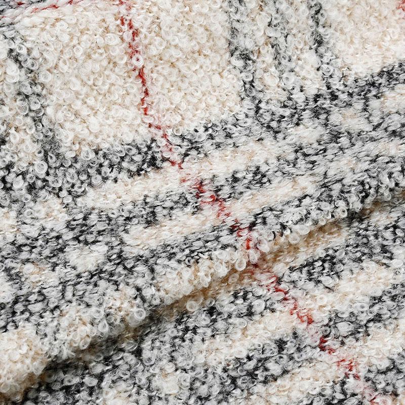Knitted Jacquard Wool Fabric