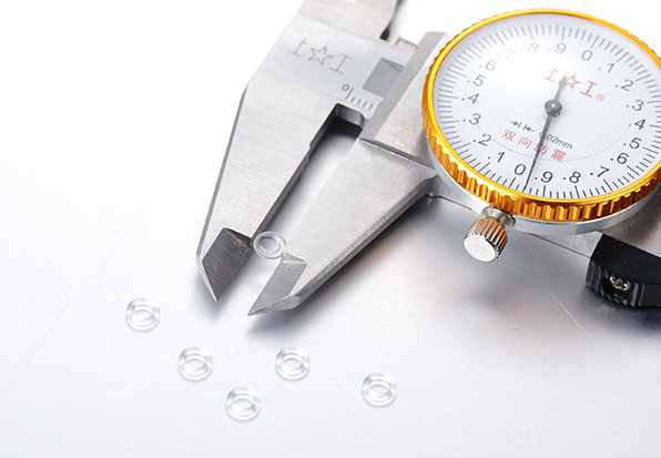 Needle-free silicone parts--O-ring