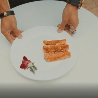 糖果派-三文魚